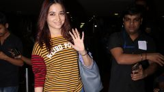 Tamannaah Spotted At Airport - Photos
