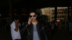 Varun Dhavan With Mom Spotted At Airport