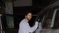 Varun Dhawan spotted at gym in juhu