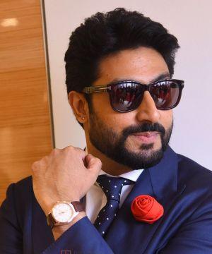 Abhishek Bachchan reacts