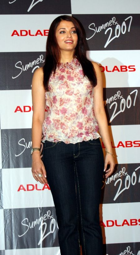 Aishwarya Rai at the Launch Party of Film SUMMER 2007