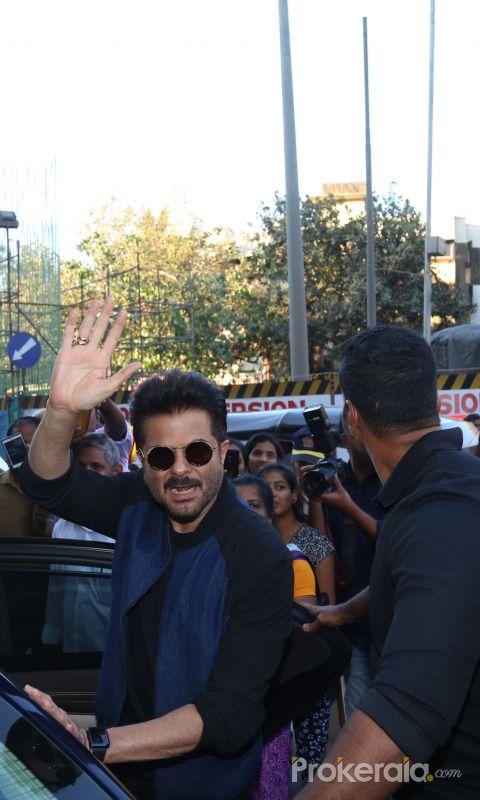 Actor  Anil Kapoor at the inauguration of Surinder Kapoor chowk at chembur