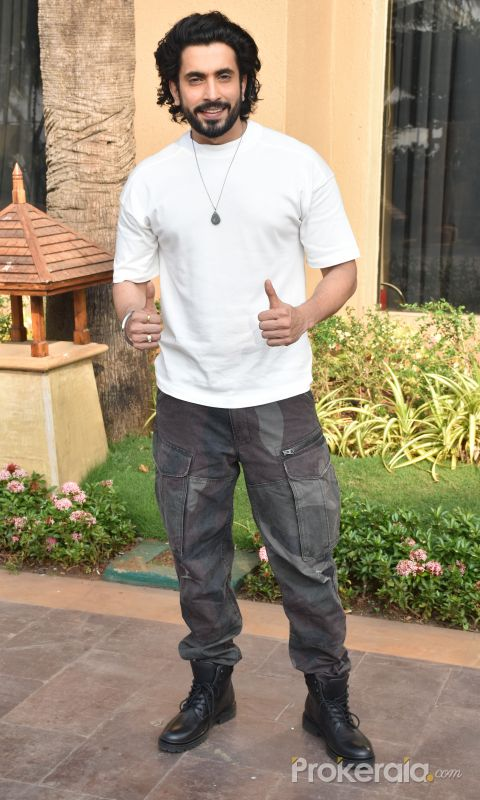 Actor Sunny Singh at the promotions of film Jai Mummy Di.