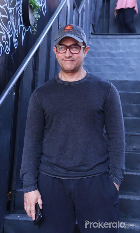 Aamir Khan At The Sunday Jazz Brunch