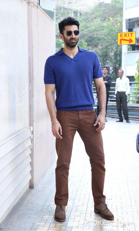 Actor Aditya Roy Kapur spotted at andheri