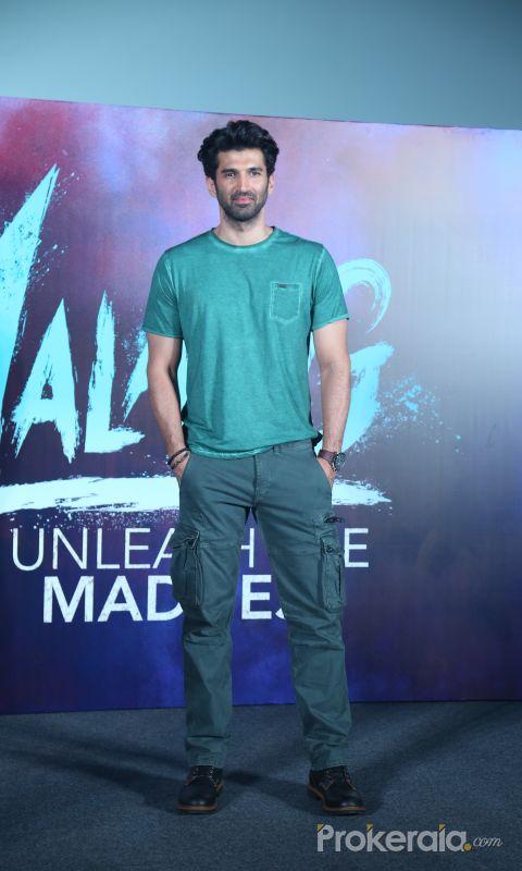 Actor Aditya RoyKapur in Trailer launch of film Malang at pvr juhu.