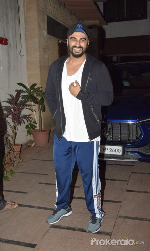 Actor Arjun Kapoor seen at juhu.