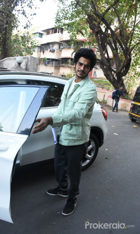 Actor Ishaan Khattar spotted at Bandra