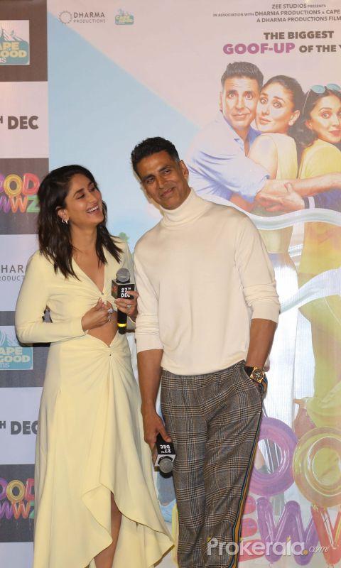 Actor Karan Johar Speak inTrailer launch of New Film Good Newwz at Cinepolis
