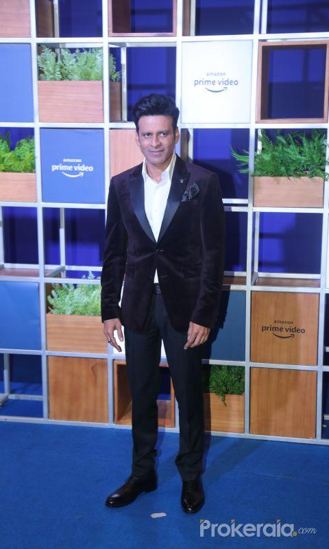 Actor Manoj Bajpai attended Jeff Bezos Welcome Bash.