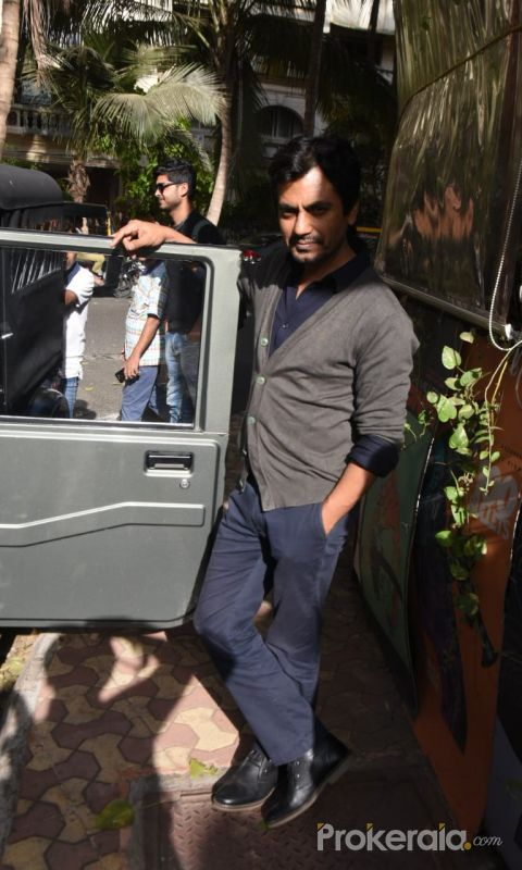 Actor Nawazuddin Siddiqui spotted at versova