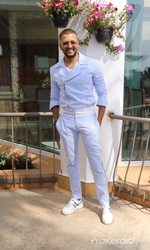 Actor Riteish Deshmukh at promotion of his movie Baaghi 3
