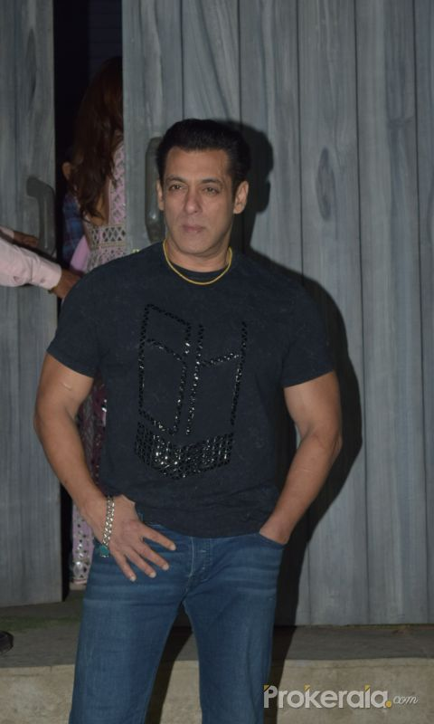 Actor Salman Khan in Promoting Function of Movie Dabangg3 at bigg boss house in goregaon