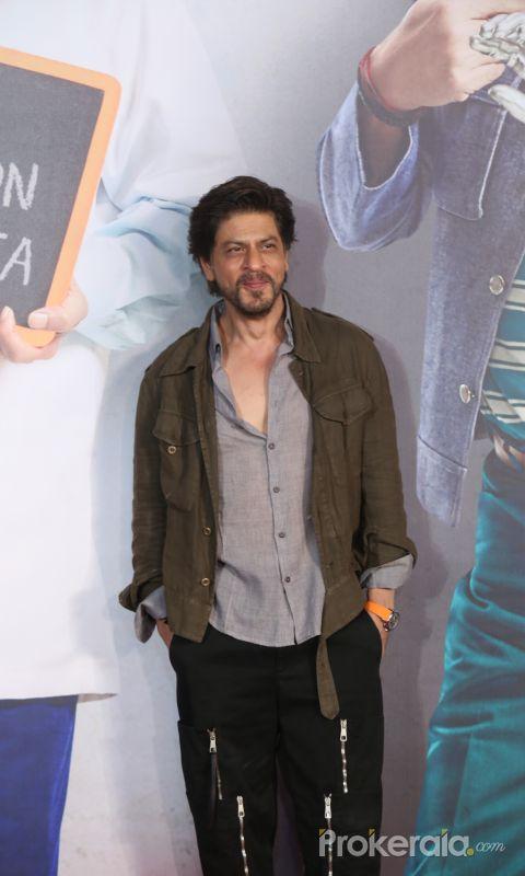 Actor Shahruk khan visit Screening of film Kaamyaab at  pvr ecx in andheri