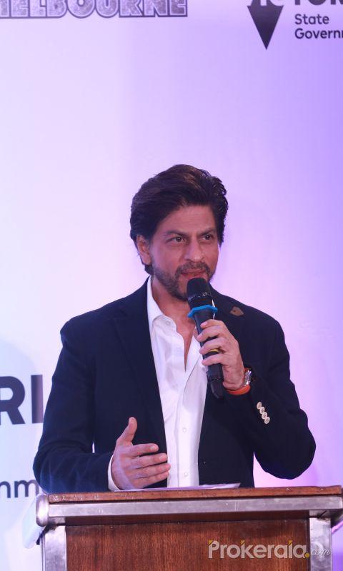 Actor Shahrukh Khan at La Trobe University PhD Scholarship program in mumbai