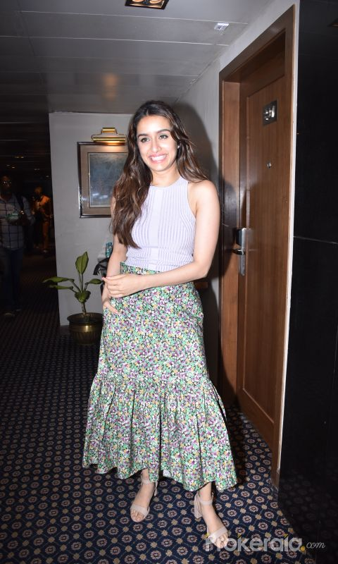 Actor Shraddha Kapoor during the promotions of film Baaghi 3 at Sun n Sand in juhu