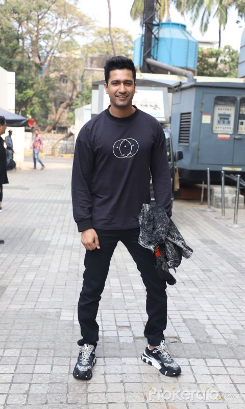 Actor Vicky Kushal at Movie Bhoot trailer launch Location