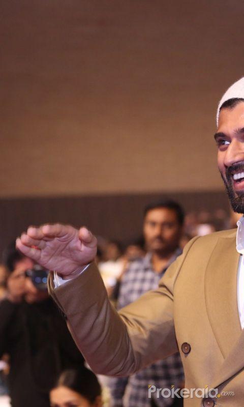 Actor Vijay Deverakonda at World Famous Lover Pre-Release Event