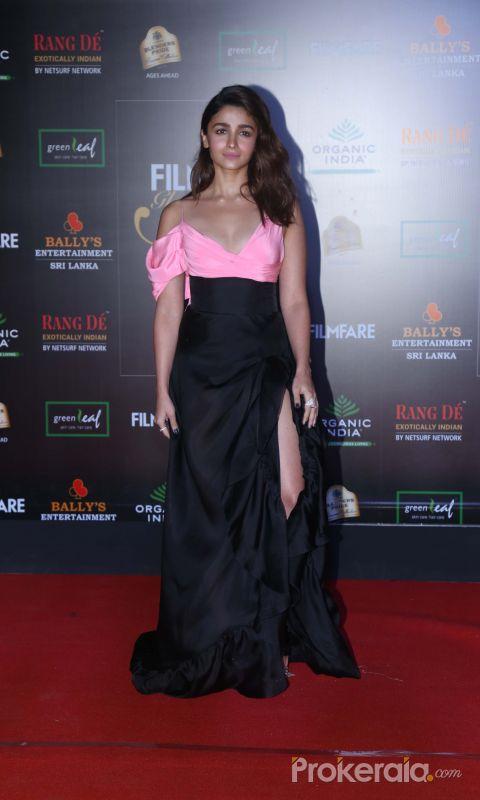 Actress Alia bhatt in Filmfare Glamour And Style Awards 2019.
