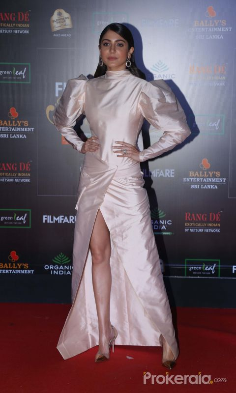 Actress Anushka Sharma in Filmfare Glamour And Style Awards 2019.