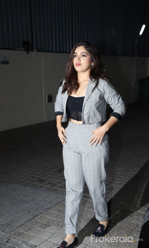 Actress Bhumi Pedekar at Screening of film Bhoot the Haunted Ship