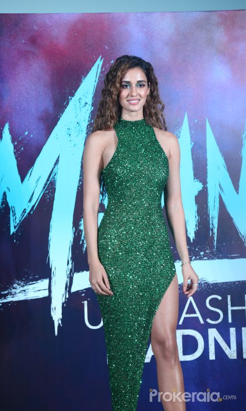 Actress Disha Patani in Trailer launch of film Malang at pvr juhu.