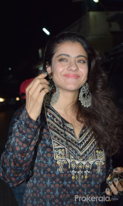 Actress Kajol spotted pvr juhu.