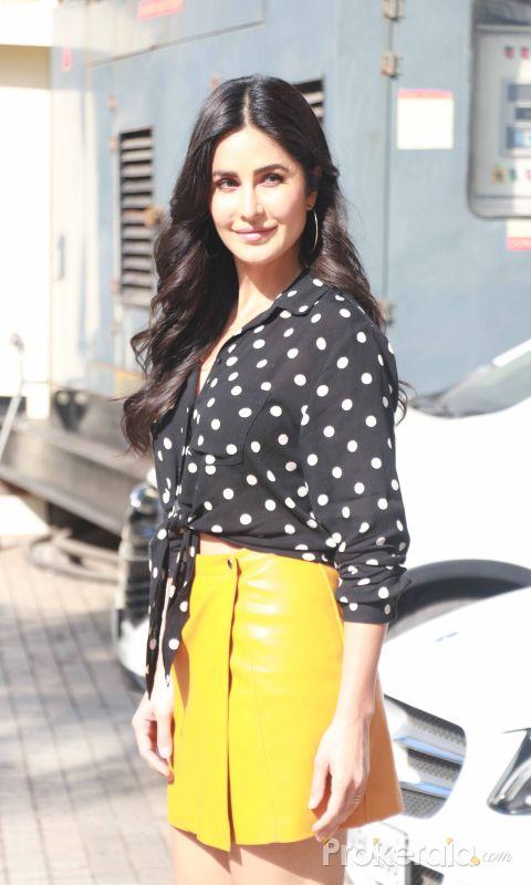 Actress katrina kaif seen at pvr Juhu