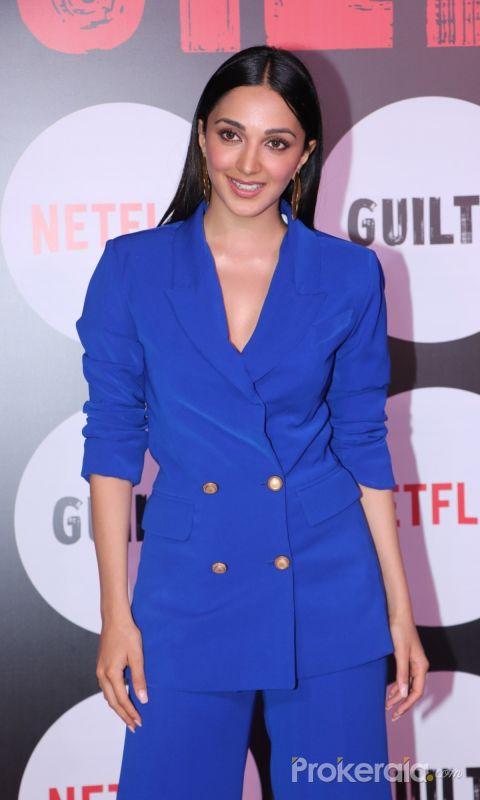 Actress Kiara Advan iat the special screening of web film Guilty