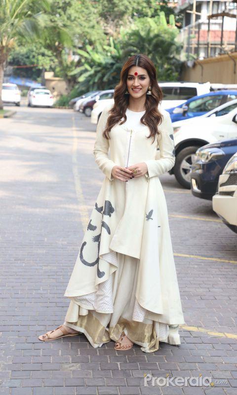 Actress Kriti Sanon During the Promotion of her film Panipat.