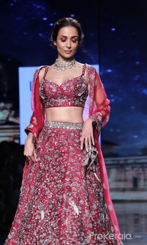 Actress Malaika Arora at Lakme Fashion Week Day