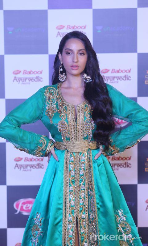 Actress Nora Fatehi in Star Screen Awards at BKC.