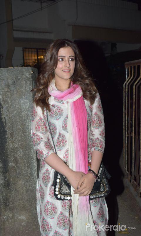 Actress  Nupur Sanon seen at Kromakay juhu.