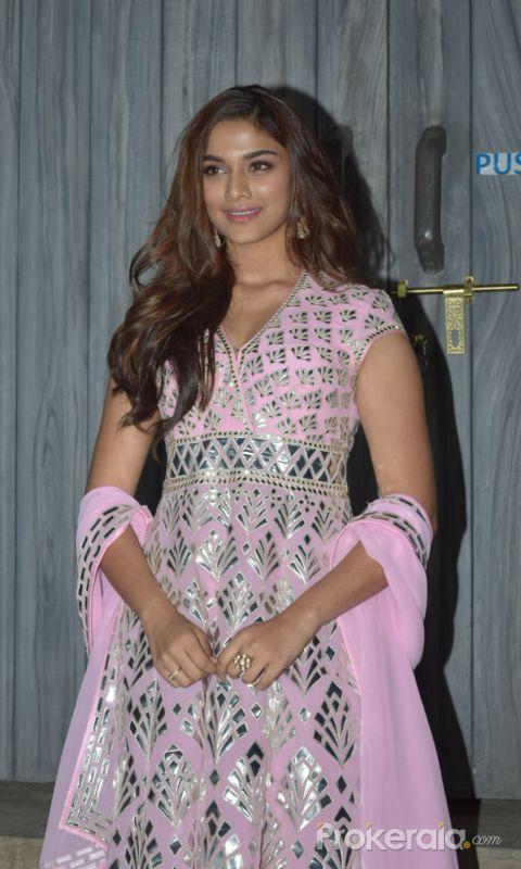 Actress Saiee Manjrekar in Promoting Function of Movie Dabangg3 at bigg boss house in goregaon