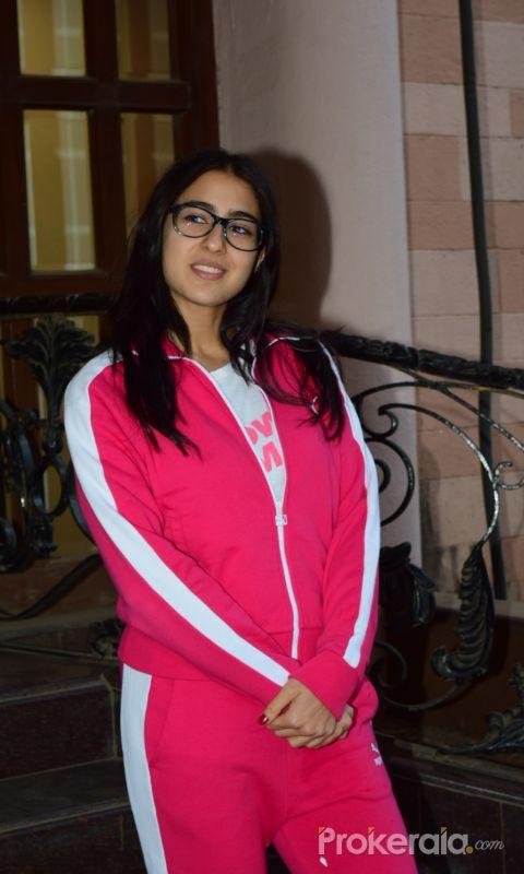 Actress Sara Ali Khan spotted at juhu