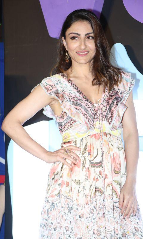 Actress Soha Ali Khan During Launch of Voot kids app