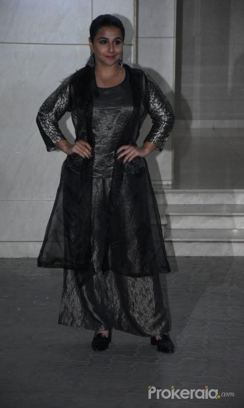 Actress Vidya Balan at  Salman Khan birthday party.