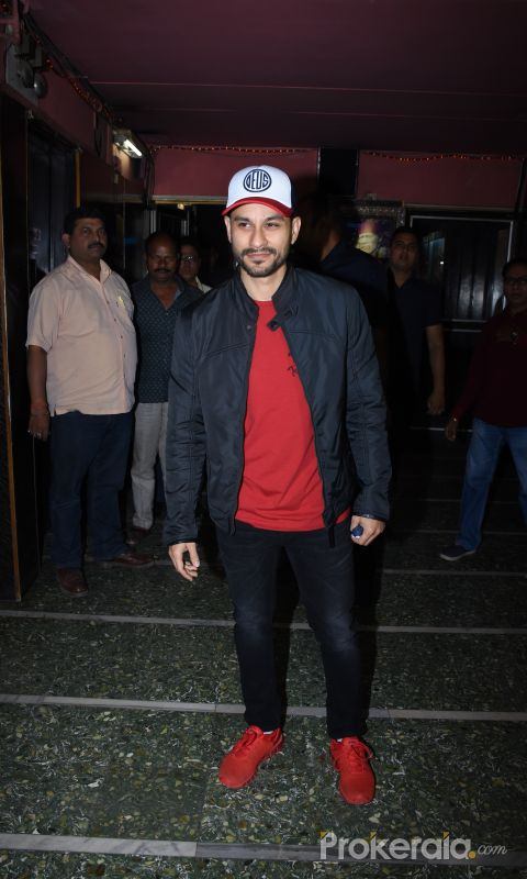 Actor Kunal Khemu at Gaiety cinemas bandra