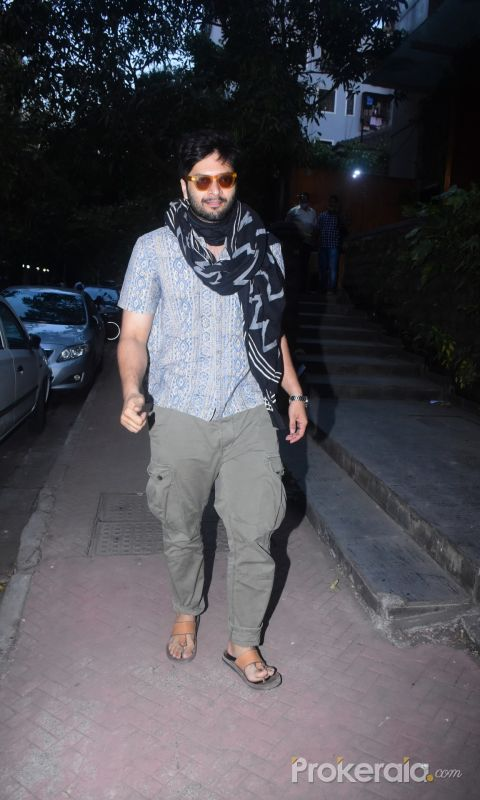 Ali Fazal spotted in Bandra