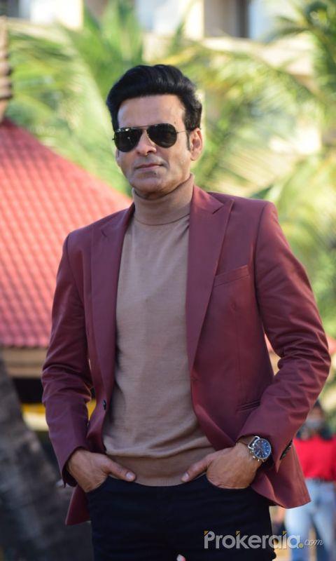 Amazon Prime video's upcoming web series The Family Man Season 2 press release function with Manoj Bajpayee