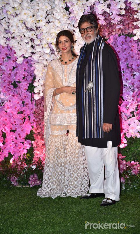 Amitabh Bachchan at Ambani's wedding