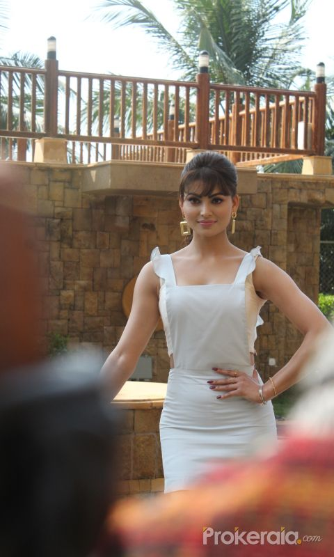 Actress Urvashi Rautela during the promotions of her upcoming film Pagalpanti