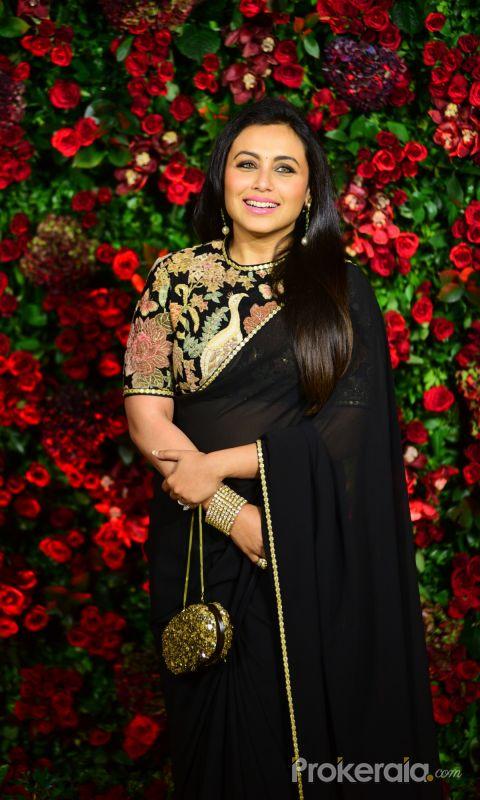 Rani Mukerji @ Deepika Padukone and Ranveer Singh Reception Party