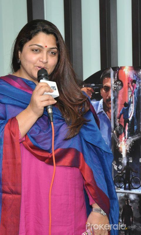 Celebrities Watch Dhuruvangal Pathinaaru - D16