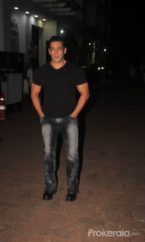 Salman Khan At Indian Pro Music League Filmcity