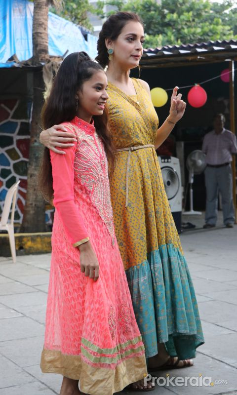 Actress Dia Mirza  Attend The Launch Of Social Initiative 'Exceed Cares'