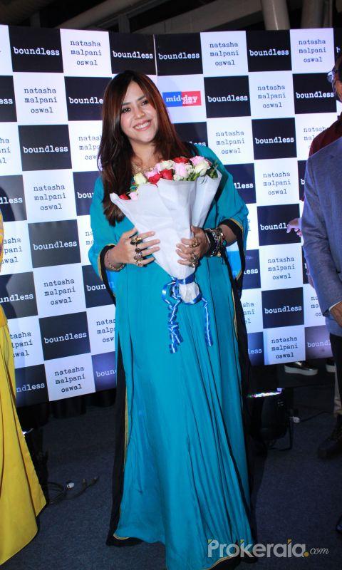 Ekta Kapoor At Book Launch of Natasha Malpani Oswal 'Boundless Photos