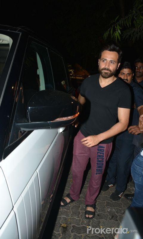 Emraan Hashmi Spotted Post A Shoot At Pali Hill