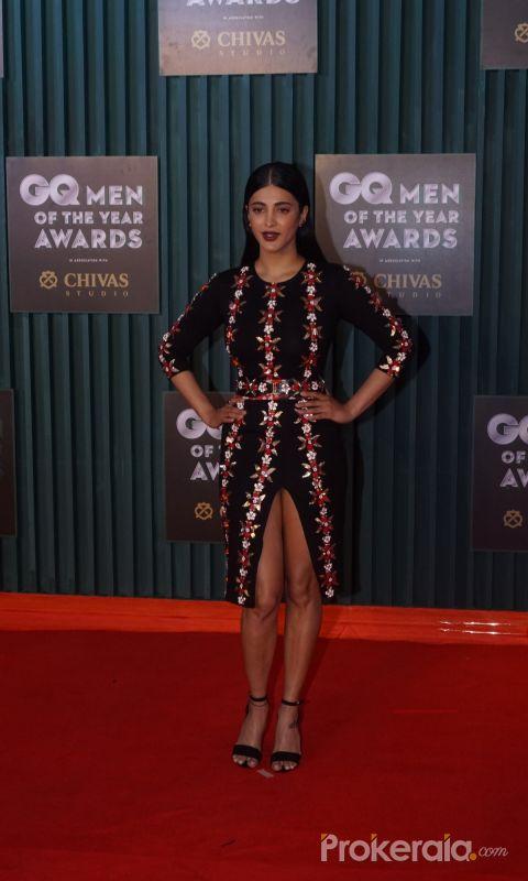 Shruti Haasan Join GQ Men of the Year Awards