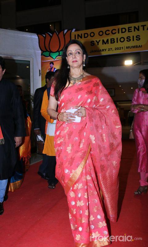 Hema Malini at Political Campaig, Organised By BJP